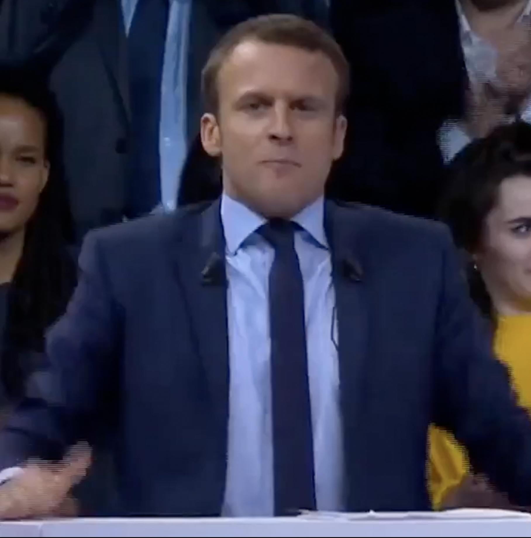 Macron: on lui donne une bonne leçon! (de rhétorique)